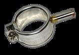 Нагр. плоский міканіт. 400 * 300 мм, 2400 Вт / 230 В, 4 отв., Термостійкий провід, притискна пластина, фото 5