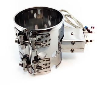 Кільцевий миканитовый нагрівач, півкільце 130 х 255 мм, 2000 Вт/380 В, М5*30
