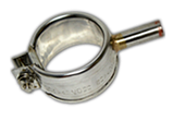 Кільцевій міканітовий 80 х 66 мм, 500 Вт / 230 В, провід з внут. частини нагр-ля 100 мм RHK, фото 5