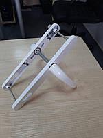 """Белая ручка для металлопластиковых дверей """"KAYAPEN"""" 25-92(195 мм) с пружиной для ПВХ дверей"""