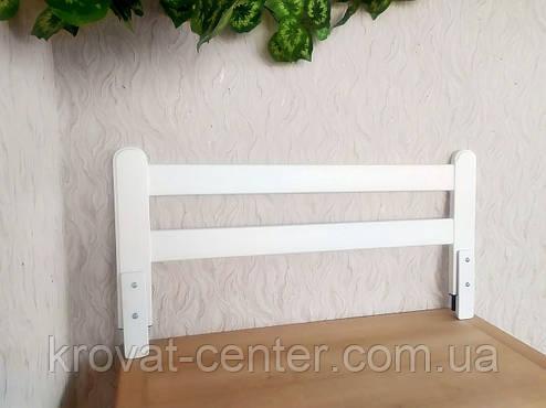 """Білий бортик захисний для дитячого ліжка """"Масу - 2"""" 100 див., фото 2"""
