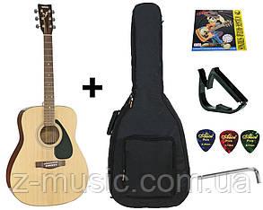 Гитара акустическая полноразмерная (4/4) Yamaha F310 (полный комплект)