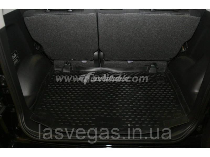 Коврик в багажник  DAIHATSU Terios 2006- внед. (полиуретан)