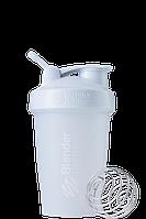 Шейкер спортивный BlenderBottle Classic Loop 20oz 590ml White, КОД: 1293367