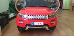 Детский электромобиль с пультом джип T-783 RED