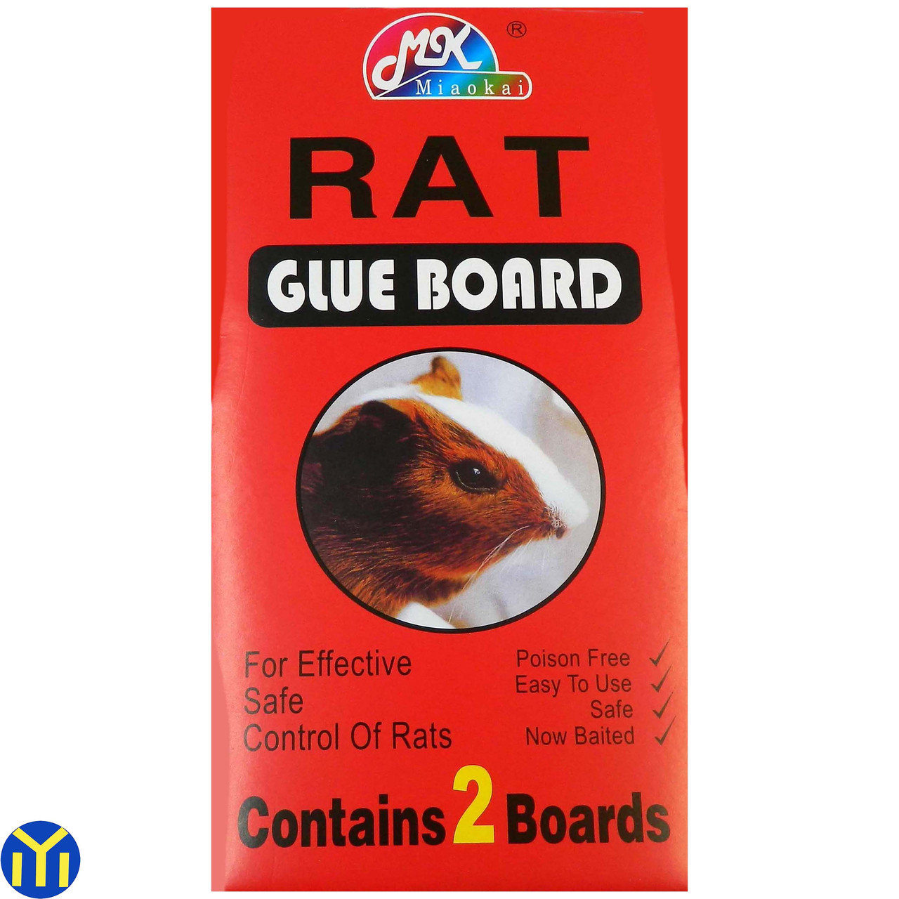 Клеевая ловушка RAT Glue Board 2шт/уп. 28х14см