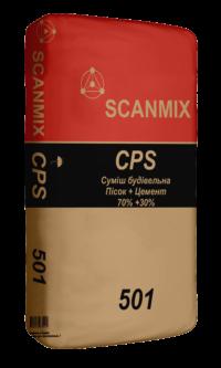 Цементно-песчаная смесь для кладки стен 501 SCANMIX CPS