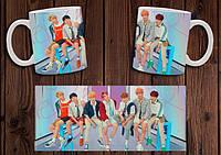 """Чашка """"BTS"""" №7"""