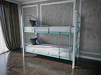 Кровать MELBI Патриция Вуд Двухъярусная 90200 см Бирюзовый КМ-001-03-10бир, КОД: 1416802