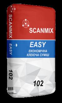 Клей для плитки 102 EASY 25 кг SCANMIX