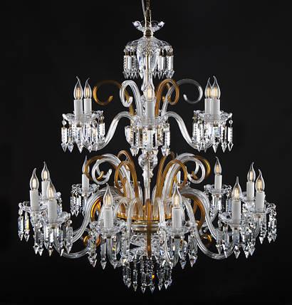 Большой хрустальный светильник Elite Bohemia, фото 2