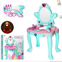 Детское трюмо для девочки со звуком и светом, туалетный столик для девочки