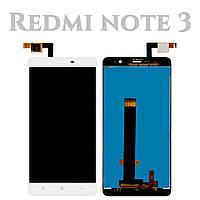 Модуль для Xiaomi Redmi Note 3, Redmi Note 3 Pro, белый, Дисплей с сенсорным экраном, 147*73 mm