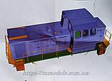 Збірна модель маневрового локомотива серії ТГМ23, масштабу 1/87, H0, фото 7