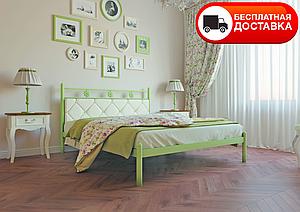 Полуторне ліжко Белла 120*200/140*200 «Метал-Дизайн»
