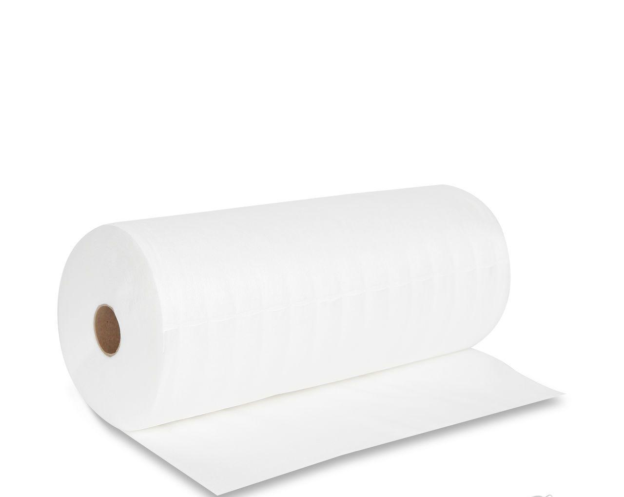 Салфетки одноразовые влаговпитывающие  20 см х 30 см (100 шт. рулон с перфорацией, структура- сетка)
