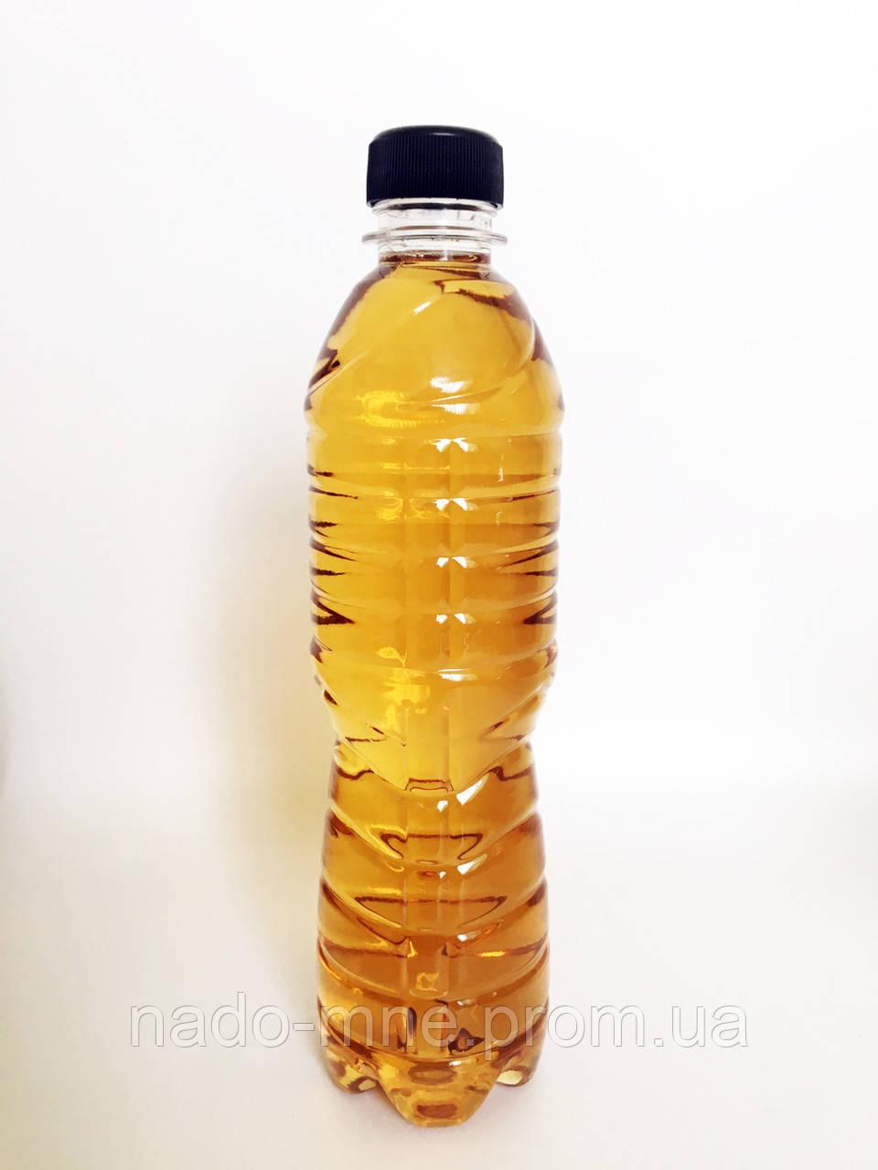 Пэт бутылка 0,5 л, прозрачная , 200 шт в упаковке, с крышкой