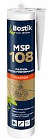 Клей полимерный MSP 108 Bostik для тяжелых конструкций и зеркал (белый) 290мл