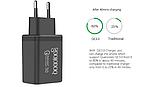 QC Быстрая зарядка 3,0 USB зарядное устройство двойной USB адаптер питания для мобильного телефона, планшета, фото 4