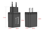 QC Быстрая зарядка 3,0 USB зарядное устройство двойной USB адаптер питания для мобильного телефона, планшета, фото 6