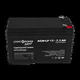 Аккумулятор AGM LP 12 - 7,2 AH SILVER, фото 2
