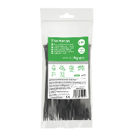Кабельний хомут (стяжка) 150x3,6 (100 шт.) колір чорний IMT46255