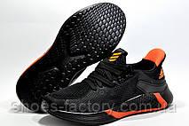 Кроссовки унисекс в стиле AdidasAlphabounce 2020, Black\Orange, фото 3