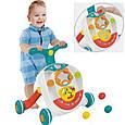 Детские ходунки-каталка Huanger Rolling Ball Walker HE0820, музыка, трещотка, фото 3