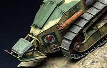 Французький легкий танк FT-17 з полегшеною вежею. 1/35 MENG MODEL TS-011, фото 3