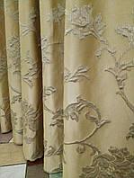 Стильные шторы. Шторы с растительным рисунком.