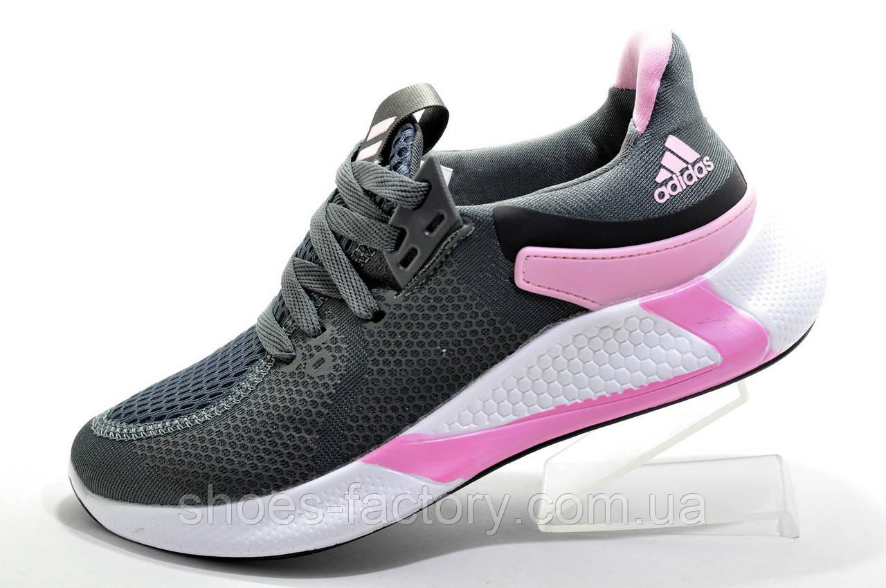 Женские кроссовки в стиле AdidasAlphabounce 2020, Gray\Pink