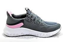 Женские кроссовки в стиле AdidasAlphabounce 2020, Gray\Pink, фото 3
