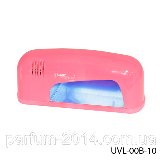 УФ лампа для сушки ногтей 9 Вт. Lady Victory UVL-00B-10