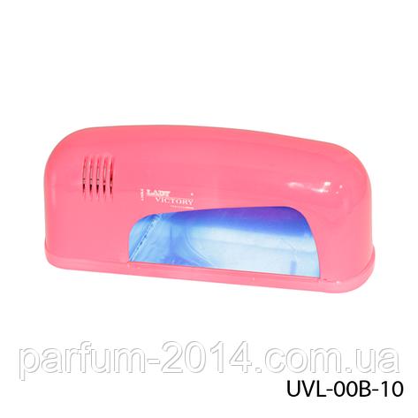 УФ лампа для сушки ногтей 9 Вт. Lady Victory UVL-00B-10, фото 2