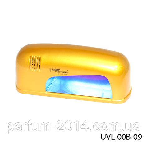 УФ лампа для сушки ногтей 9 Вт. Lady Victory UVL-00B-09, фото 2