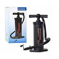 Насос Intex 68605 ручной для накачки надувных изделий 37 см Механический