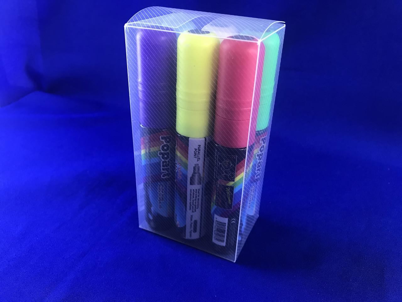 Специализированные маркеры для LED доски POPART 10 мм 6 цветов (1 шт.)