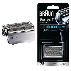 Сітка і ріжучий блок (картридж) Braun 70s (9000) Series 7 Pulsonic для чоловічої електробритви 01261