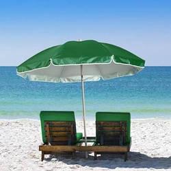 Пляжный зонт с наклоном 2.0 Umbrella Anti-UV зеленый