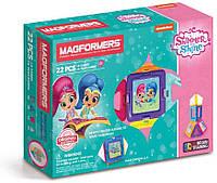 Магнитный конструктор Магформерс Шиммер и Шайн MAGFORMERS Shimmer and Shine Set 22 детали, фото 1