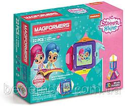 Магнитный конструктор Магформерс Шиммер и Шайн MAGFORMERS Shimmer and Shine Set 22 детали