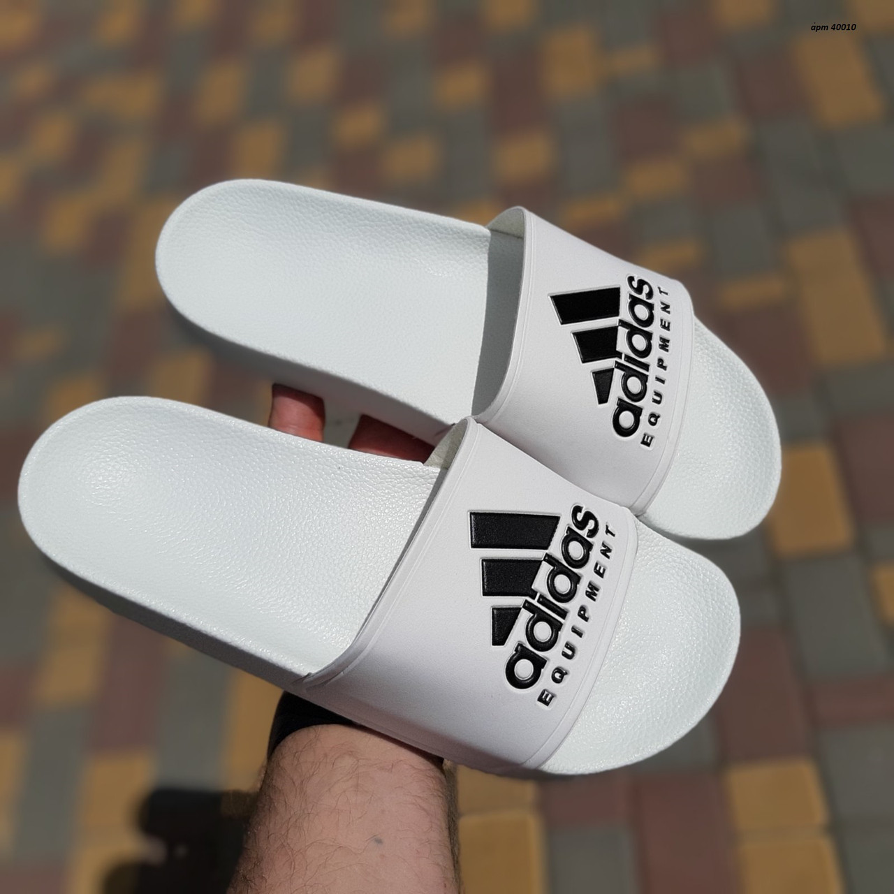 Мужские шлепанцы Adidas, Реплика