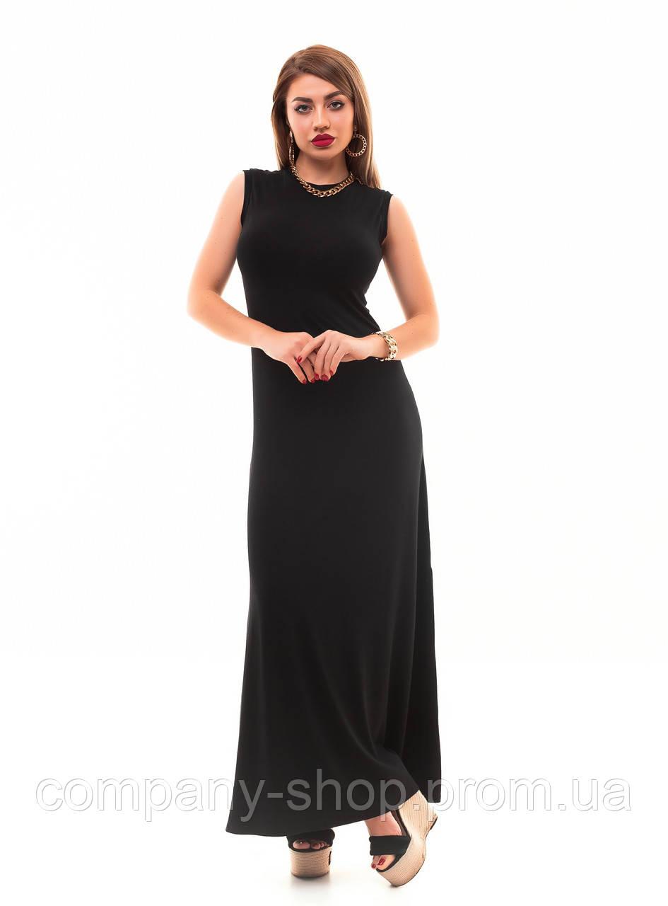 Женское летнее  длинное платье