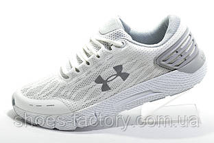 Білі чоловічі кросівки в стилі Under Armour Charged Rogue 2, White