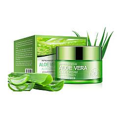 Крем для лица BIOAQUA Aloe Vera 92% 50 г успокаивающий увлажняющий защитный