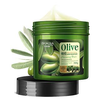 Маска для волос с оливковым маслом BIOAQUA Olive Hair Mask 500 мл