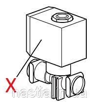 5213218311 Електроклапан гарячої води(ECAM), 230V, 3.5bar, 5220VN2 7P12AIF, на 2 входи, DeLongi