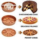 Антипригарная форма для выпечки Copper Chef Perfect Cake Pan, фото 4