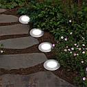 Уличный светильник на солнечной батарее Solar Disk Lights, фото 7