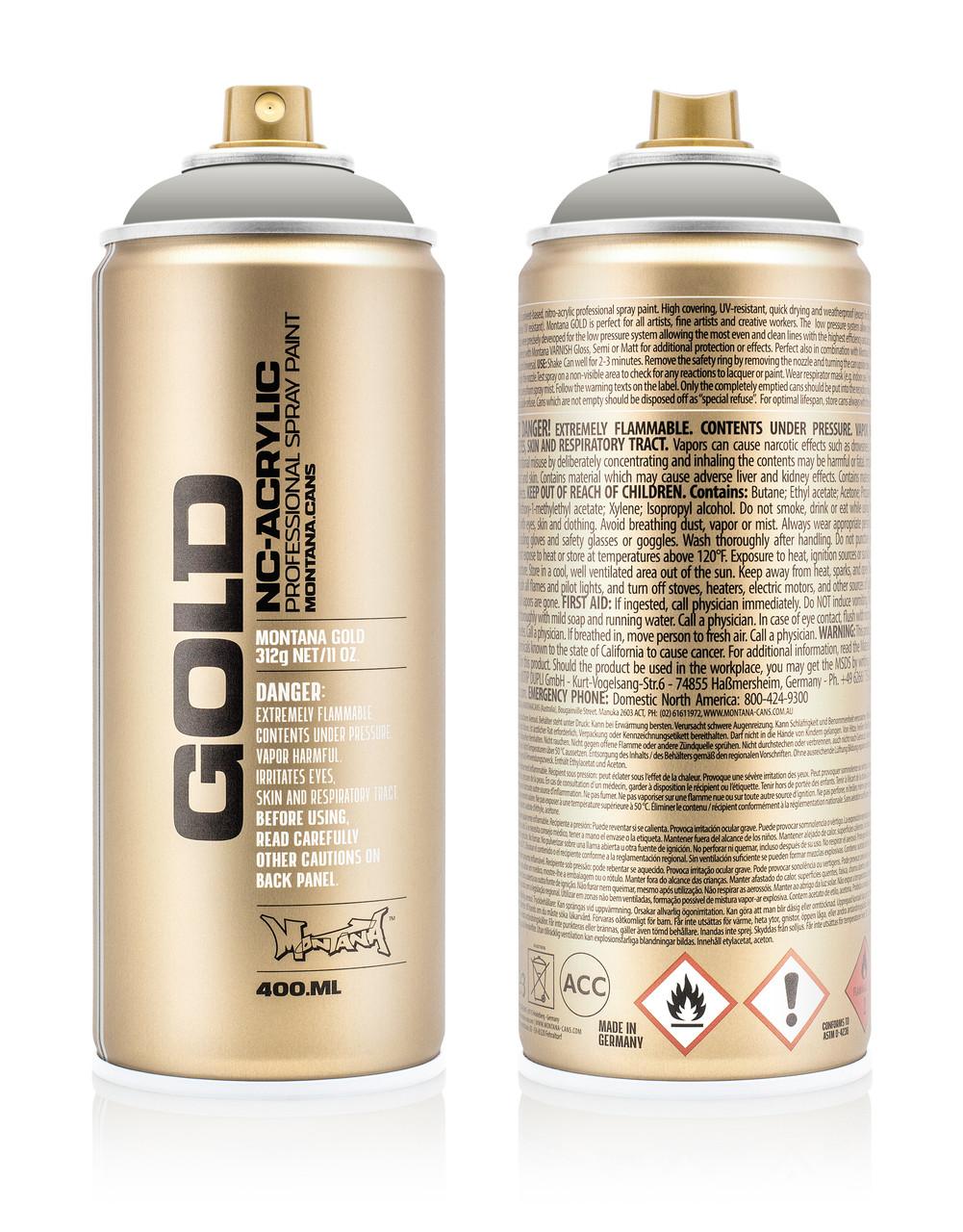 Краска Montana Gold 7030 Железный занавес 400 мл (Iron Curtain) (285271)